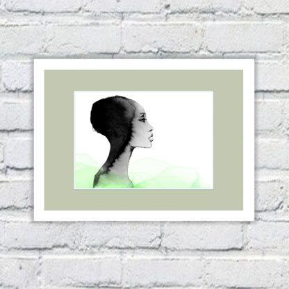 Tula Parker - Adwoa - Limited edition art print