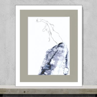 Tula Parker - At Ease - Limited edition art print