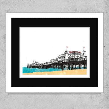 Daniel Haskett -Brighton Rock limited edition art print