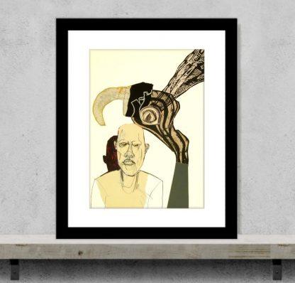 John Lymer - Not Batman - Original ArtJohn Lymer - Brooding - Original Art
