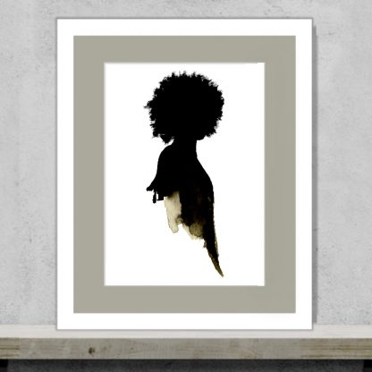 Tula Parker - Don't touch my hair - Limited edition art print