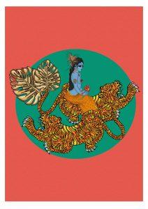 MsDre - Flying Tiger Durga (Special Edition)