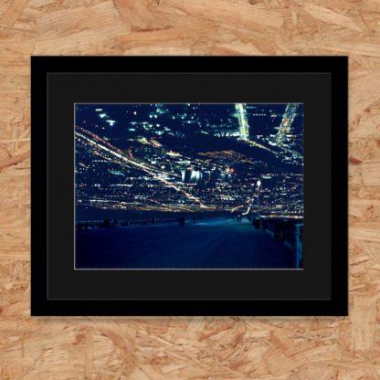Will Vickers - Future Promenade. Framed limited-edition art print