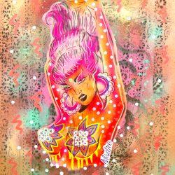 Burlesque Boudoir Babe 2