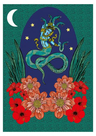 Naga in Moonlight (Special Edition) **EXCLUSIVE**