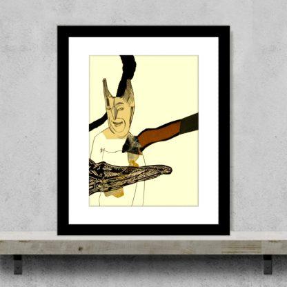 John Lymer - Not Batman - Original Artrint