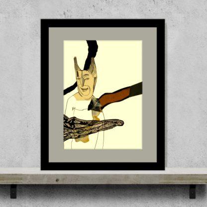 John Lymer - Not Batman - Original Art