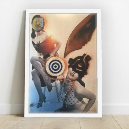 Maximillion - She Speaks Perfect English - Limited-edition foil giclee art print