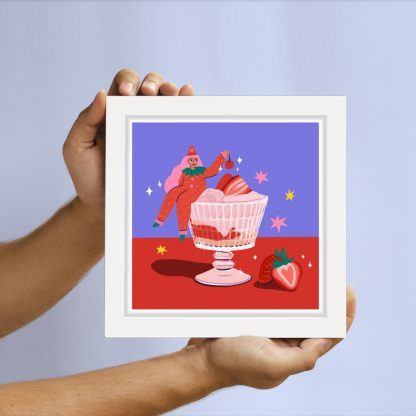 Gem D'Souza - Strawberries - Limited-edition giclee art print