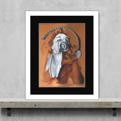 Maximillion - Tainted Blood - Limited-edition foil giclee art print
