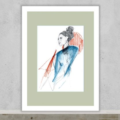 Tula Parker - Unravelling - Limited edition art print