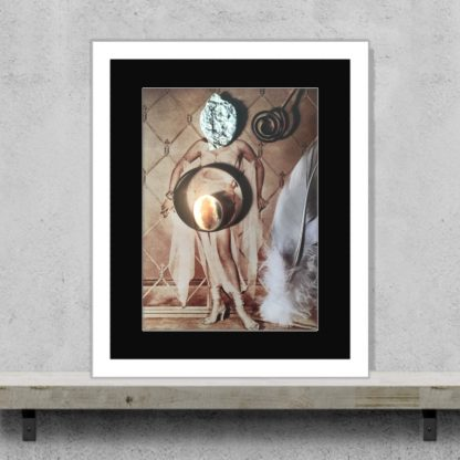 Maximillion - When Love Passed Away - Limited-edition foil giclee art print