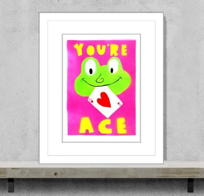 MePenLeaks - You're Ace (Framed)