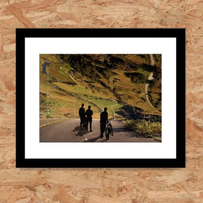 Will Vickers - long way down. Framed limited-edition art print