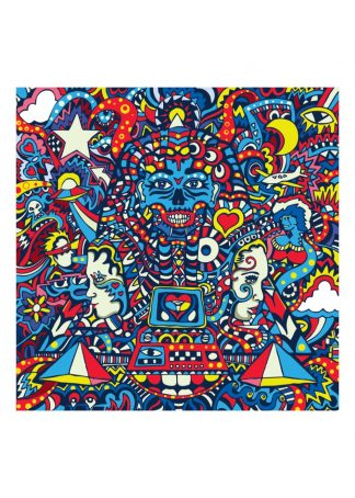 Manic Minotaur - Let Forever Be - Limited edition art print