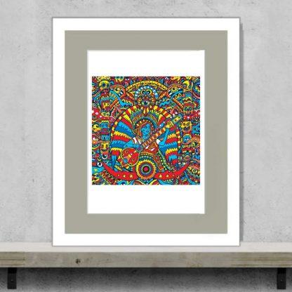 Manic Minotaur - Underworld - Limited edition art print