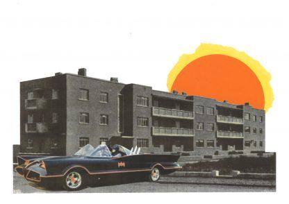 Visage de Collage - Batman v Tenement