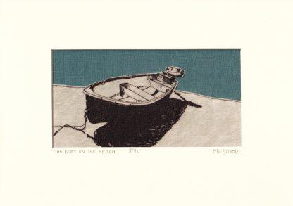 Flo Snook - Boat on the Beach