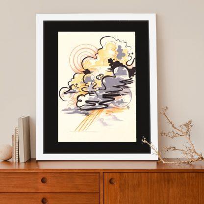 Mishfit - Cloud 9 #3 (ORIGINAL ARTWORK)