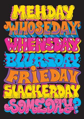 Pinky - Daze of the Week