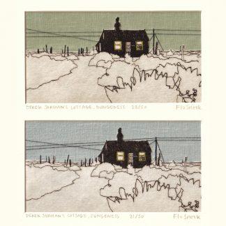 Flo Snook - Derek Jarman's Cottage, Dungeness