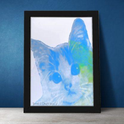 Barrie J Davies - Kitschy Cat (A4 #3)