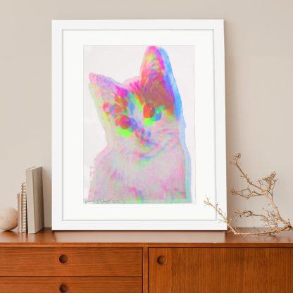 Barrie J Davies - Kitschy Cat (A3 #1)