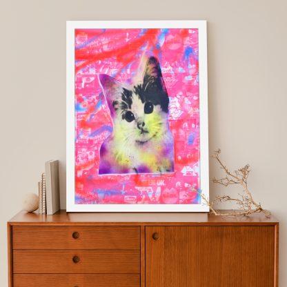 Barrie J Davies - Kitschy Cat (A2 #4)