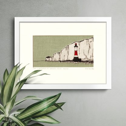 Flo Snook - Lighthouse at Beachy Head