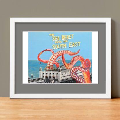 Beav-Art: Sea Beast from the South East