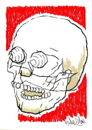 Richie Phoe - Skull #1 (Original)