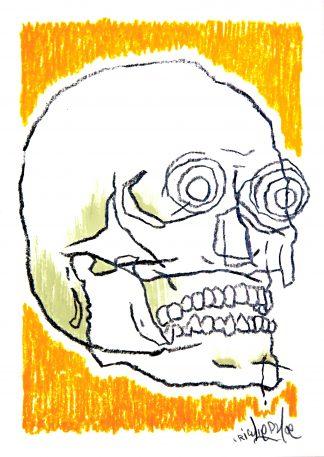 Richie Phoe - Skull #2 (Original)