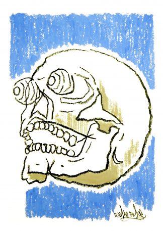 Richie Phoe - Skull #3 (Original)