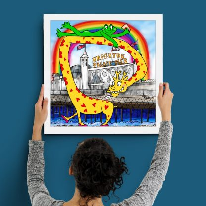 MyPenLeaks - Welcome to Brighton. Limited-edition art print - CONCLAVE EXCLUSIVE