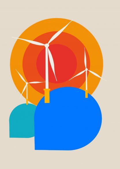 Victoria Kaplan - Windfarm **EXCLUSIVE** Limited-edition art print