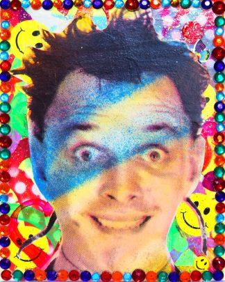 Barrie J Davies - Disco Rick(Mini-Canvas)