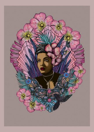 Msdre - Billie Holiday (Special Edition) giclee art print