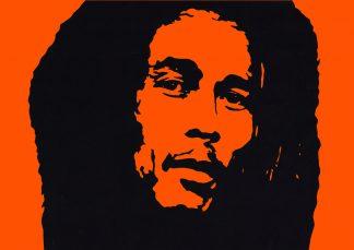 Emma Holmes - Bob Marley - Handcut paper artwork