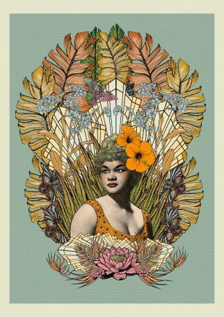 Msdre - Etta James (Special Edition) giclee art print