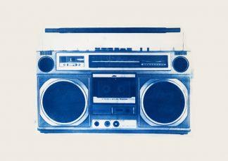 Kirsteen Adams - Ghetto - Cyanotype print