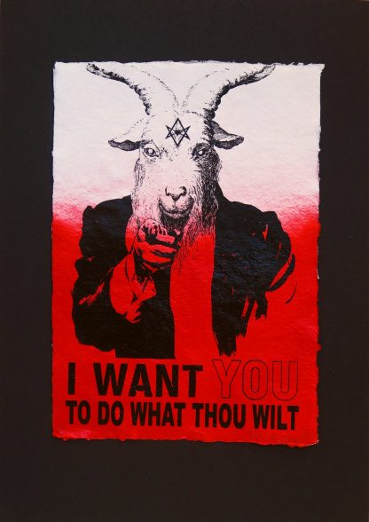 Billy Chainsaw - I Want You - Original artwork