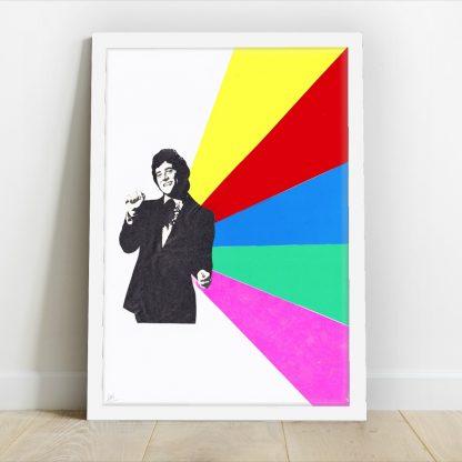 Visage de Collage - Prism Disco