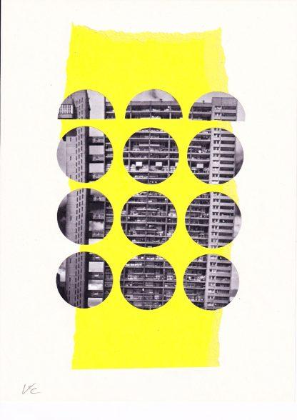 Visage de Collage - Ten and a half (original)