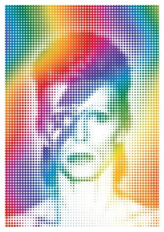 J David Bennett - Bowie - Framed A3 B
