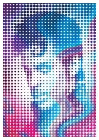 J David Bennett - Prince - Framed A3 B