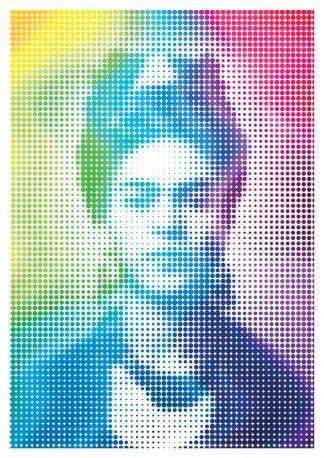 J David Bennett - Frida Kahlo - Ltd edition giclee art print