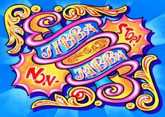 Dave Pop! - jibba jabba limited-edition art print